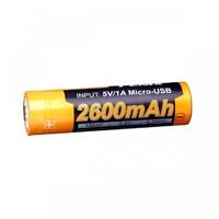 Аккумулятор 18650 Fenix ARB-L18-2600U (2600 mAh)