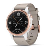 Часы Garmin D2™ Delta S Aviator Watch with Beige Leather Band