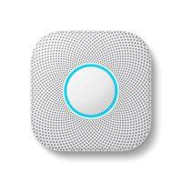 Датчик дыма (CO2) Google Nest Protect Smoke/Carbon Monoxide Alarm - White (S3000BWES)