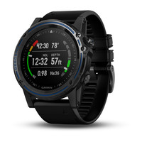 Garmin Descent™ Mk1 Gray Sapphire with Black Band