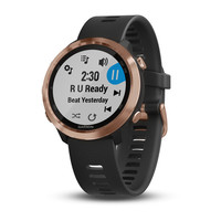 Часы Garmin Forerunner 645 Music Black with Rose Gold Hardware