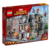 Классический конструктор LEGO Бой в святилище доктора Стренджа (76108)