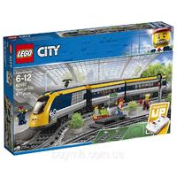 Классический конструктор LEGO City Пасажирский поезд (60197)