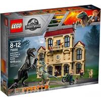 Классический конструктор LEGO Jurassic World Нападение индораптора в поместье Локвуд (75930)
