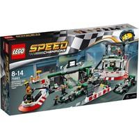 Классический конструктор LEGO Speed Champions Команда Формулы Один (75883)