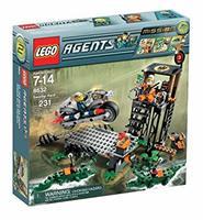 Конструктор LEGO Agents: Mission 2: Swamp Hunt Агенты Миссия 2: Охота на болоте (8632)