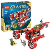 Конструктор LEGO Atlantis Субмарина Тайфун Турбо (8060)