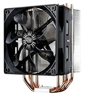Кулер Cooler Master Hyper RR-212E-20PK-R2 LED CPU Cooler with PWM Fan, Four Direct Contact Heat Pipes