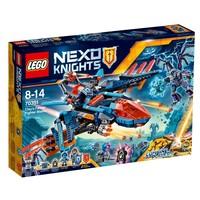 Пластиковый конструктор LEGO Nexo Knights Самолёт-истребитель Сокол Клэя (70351)