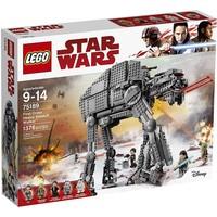Пластмассовый конструктор LEGO Star Wars Тяжелый штурмовой шагоход Первого Ордена (75189)