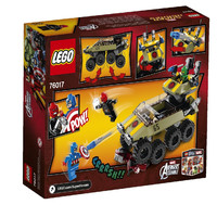 Пластмассовый конструктор LEGO Super Heroes Капитан Америка против Гидры (76017)