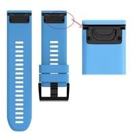 Ремешок на запястье для Garmin Fenix 5x Watch Bands Blue Silicone