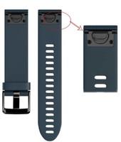 Ремешок на запястье для Garmin Fenix 5s Watch Bands Granite Blue Silicone