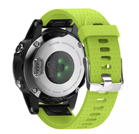 Ремешок на запястье для Garmin Fenix 5s/6s Watch Bands Green Silicone