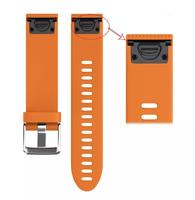 Ремешок на запястье для Garmin Fenix 5s Watch Bands Orange Silicone