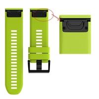 Ремешок на запястье для Garmin Fenix 5x/6x Watch Bands Green Silicone