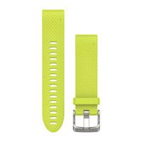 Ремешок на запястье для Garmin QuickFit™ 20 Watch Bands Amp Yellow Silicone