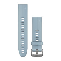 Ремешок на запястье для Garmin QuickFit™ 20 Watch Bands Sea Foam Blue Silicone