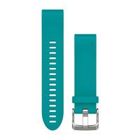 Ремешок на запястье для Garmin QuickFit™ 20 Watch Bands Turquoise Silicone