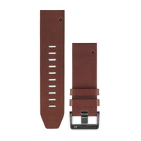 Ремешок на запястье для Garmin QuickFit™ 22 Watch Bands Brown Leather