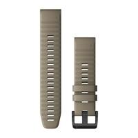 Ремешок на запястье для Garmin QuickFit™ 22 Watch Bands Dark Sandstone Silicone