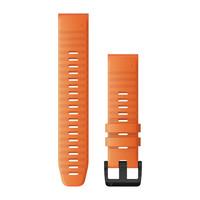 Ремешок на запястье для Garmin QuickFit™ 22 Watch Bands Ember Orange Silicone