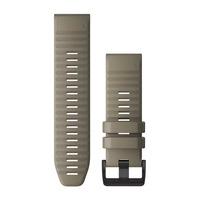 Ремешок на запястье для Garmin QuickFit™ 26 Watch Bands Dark Sandstone Silicone