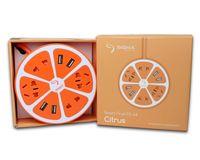 Сетевой фильтр-удлинитель Sigma mobile Smart Fruit PS-44 Citrus