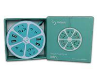 Сетевой фильтр-удлинитель Sigma mobile Smart Fruit PS-44 Mint