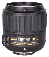 Широкоугольный объектив Nikon AF-S Nikkor 35mm f/1.8G ED