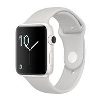 Смарт-часы Apple Watch Edition Series 2 38mm White Ceramic Case with White Sport Band (MNPF2)