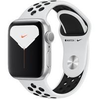 Смарт-часы Apple Watch Nike Series 5 GPS 40mm Silver Aluminum w. Silver Aluminum (MX3R2)