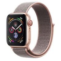 Смарт-часы Apple Watch Series 4 GPS + LTE 40mm Gold Alum. w. Pink Sand Sport l. Gold Alum. (MTUK2)
