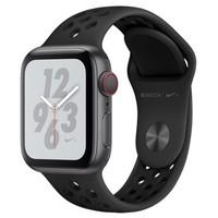 Смарт-часы Apple Watch Series 4 Nike+ GPS + Cellular 40mm Gray c. w. Black Nike Sport b. (MTXG2)