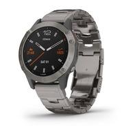 Спортивные часы Garmin Fenix 6 Pro Sapphire - Titanium with Vented Titanium Bracelet