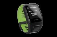 Спортивные часы TomTom Runner 3 Cardio + Music (Black/Green - Large)
