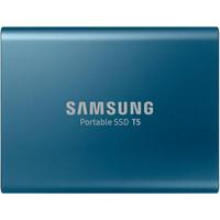 SSD накопитель Samsung T5 Blue 500 GB (MU-PA500B/WW)