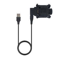 USB Dock Charger Charging Clip Data Cable For зарядное устройство клипса для Garmin Fenix 3 HR