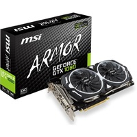 Видеокарта MSI GeForce GTX 1080 ARMOR 8G OC (912-V336-004)