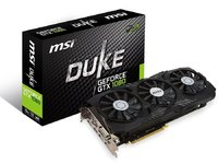Видеокарта MSI GeForce GTX 1080 DUKE 8G OC (912-V336-095)