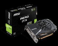 Видеокарта MSI GeForce GTX1060 AERO ITX 6G OC (912-V328-086)