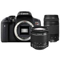 Зеркальный фотоаппарат Canon EOS 1300D PREMIUM KIT EF-S18-55mm f/3.5-5.6 IS II + EF 75-300mm f/4-5.6 III (REBEL T6)
