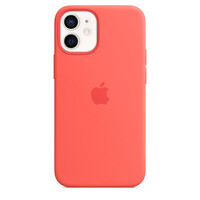 Чехол для смартфона Apple iPhone 12 mini Silicone Case with MagSafe - Pink Citrus (MHKP3)