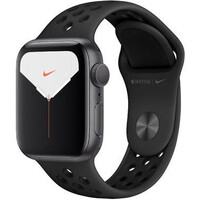 Смарт-часы Apple Watch Nike Series 5 GPS 40mm Space Gray Aluminum w. Space Gray Aluminum (MX3T2)